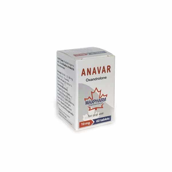Анавар - Максфарм Канада - Фитнес аптека